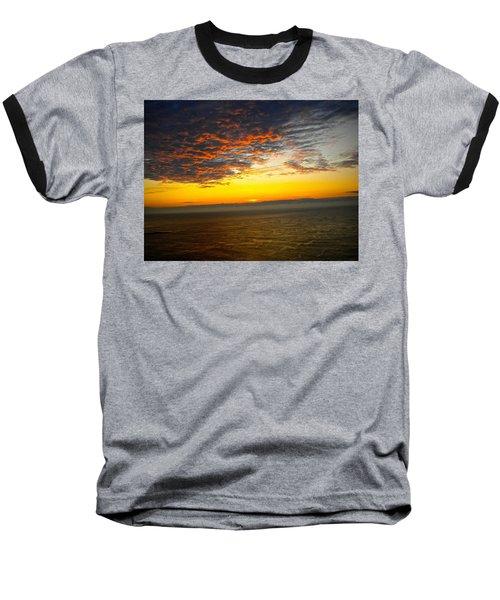 Jersey Morning Sky Baseball T-Shirt