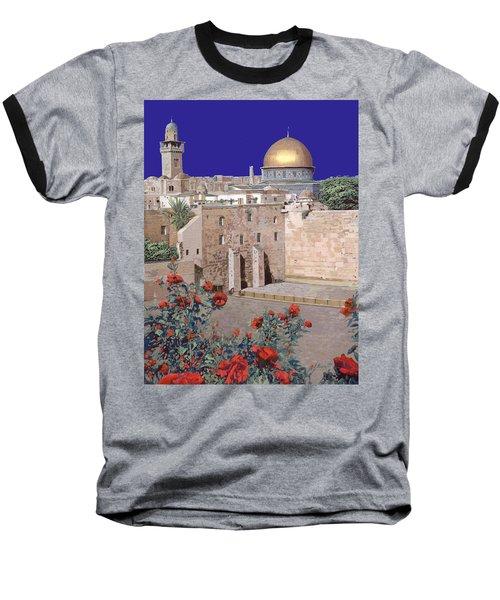 Jerusalem Baseball T-Shirt