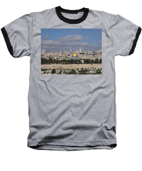 Jerusalem Old City Baseball T-Shirt
