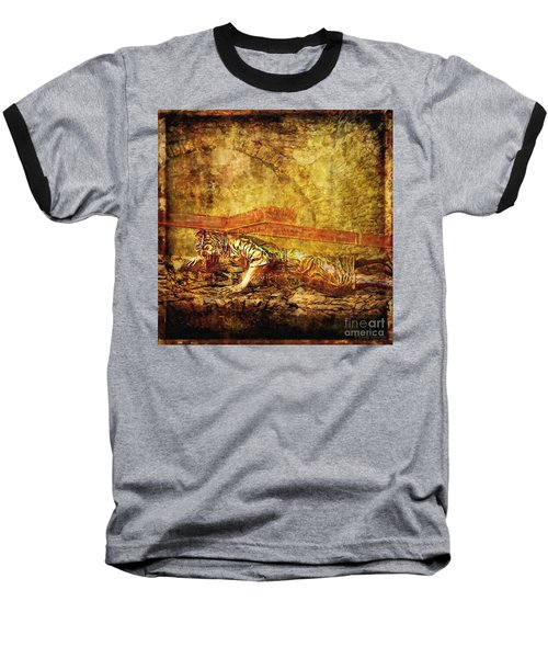 Jesus Falls Third Time Via Dolorosa 9 Baseball T-Shirt