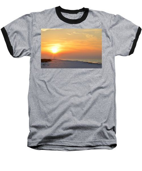 Jesus Rising On Easter Morning On Navarre Beach Baseball T-Shirt