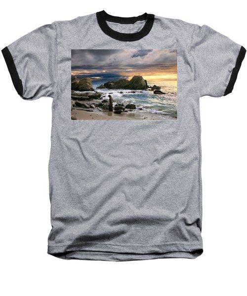 Jesus' Sunset Baseball T-Shirt