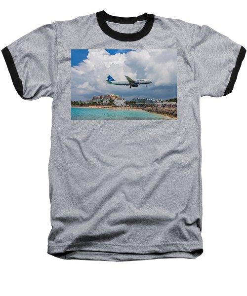 jetBlue in St. Maarten Baseball T-Shirt