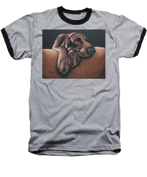 Baseball T-Shirt featuring the pastel Jethro by Cynthia House