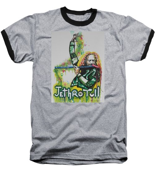 Jethro Tull Baseball T-Shirt by Chrisann Ellis
