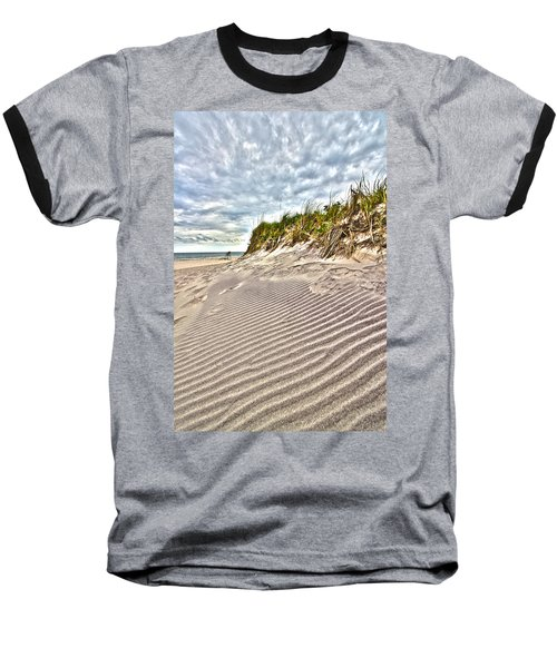 Jetty Four Dune Stripes Baseball T-Shirt