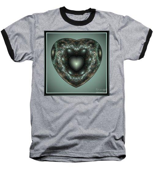 Jewel Heart Baseball T-Shirt