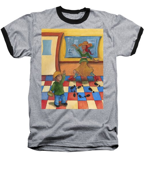 Jhonan And His Teacher  Baseball T-Shirt