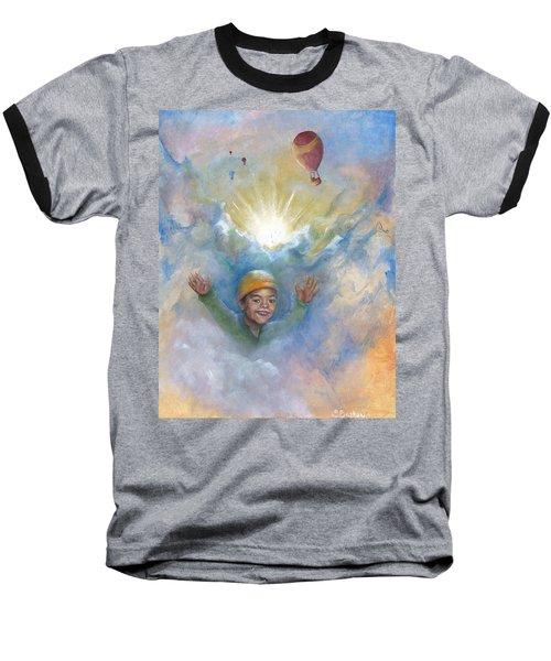 Jhonan And The Hot Air Balloons Baseball T-Shirt