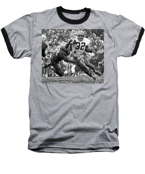 Jim Brown #32 Baseball T-Shirt