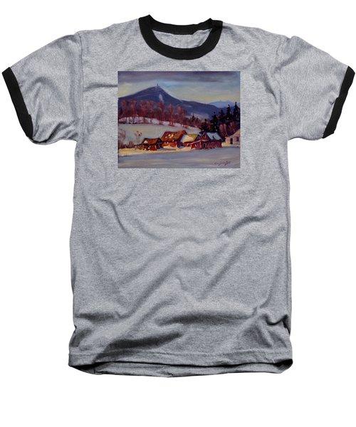 Jimmie's Place Baseball T-Shirt by Len Stomski