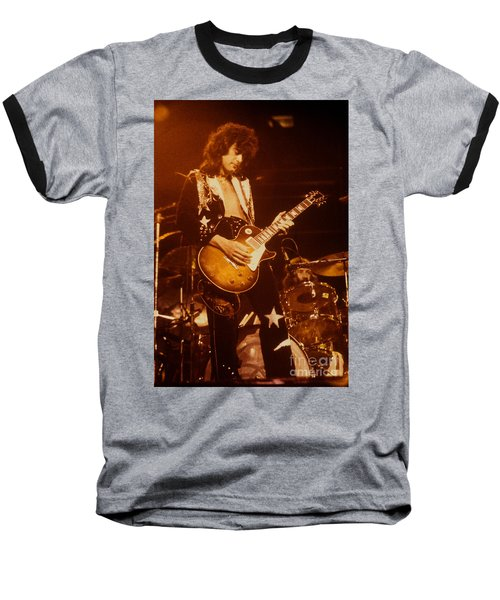 Jimmy Page 1975 Baseball T-Shirt