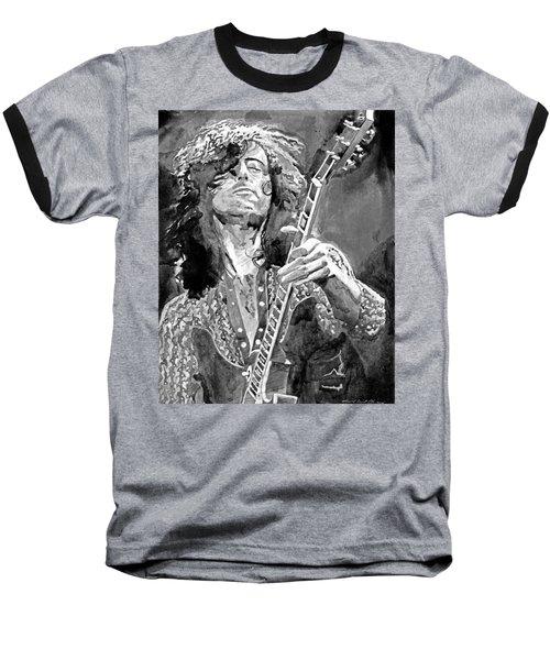 Jimmy Page Mono Baseball T-Shirt