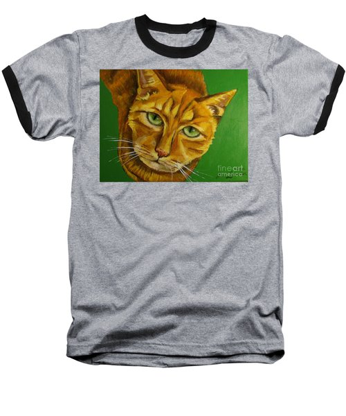 Jing Jing - Cat Baseball T-Shirt