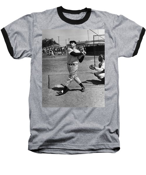 Joe Dimaggio Hits A Belter Baseball T-Shirt