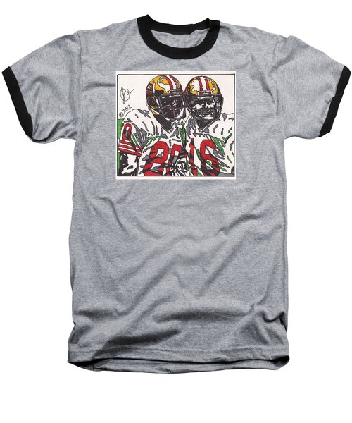 Joe Montana And Jerry Rice Baseball T-Shirt