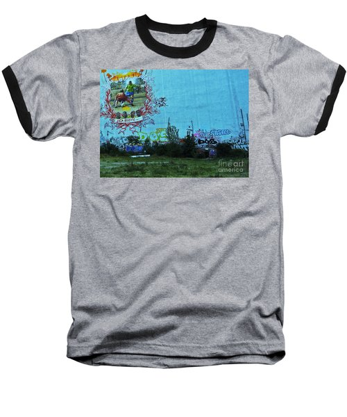 Joga Bonito - The Beautiful Game Baseball T-Shirt by Andy Prendy