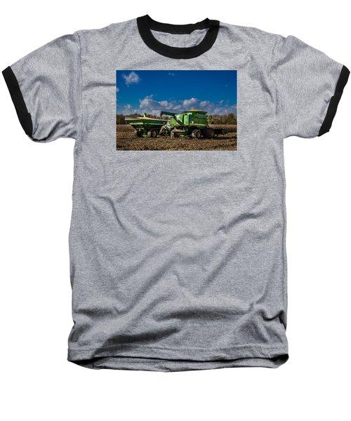 John Deere Combine 9770 Baseball T-Shirt