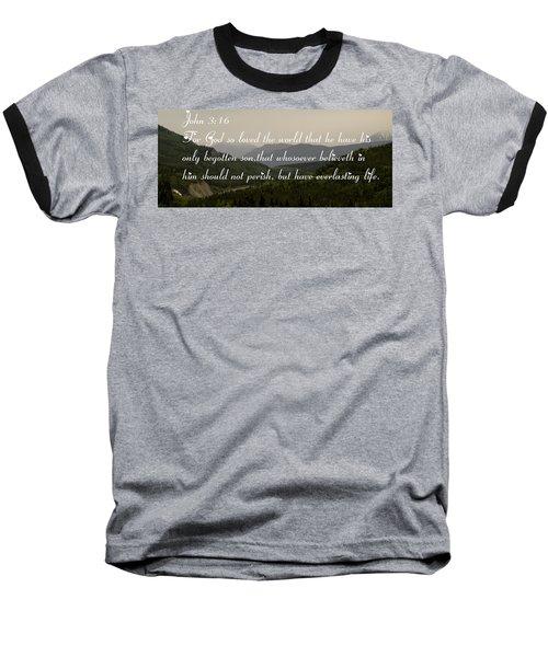 John Three Sixteen Baseball T-Shirt