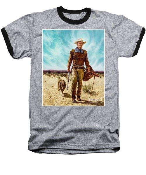 John Wayne Hondo Baseball T-Shirt