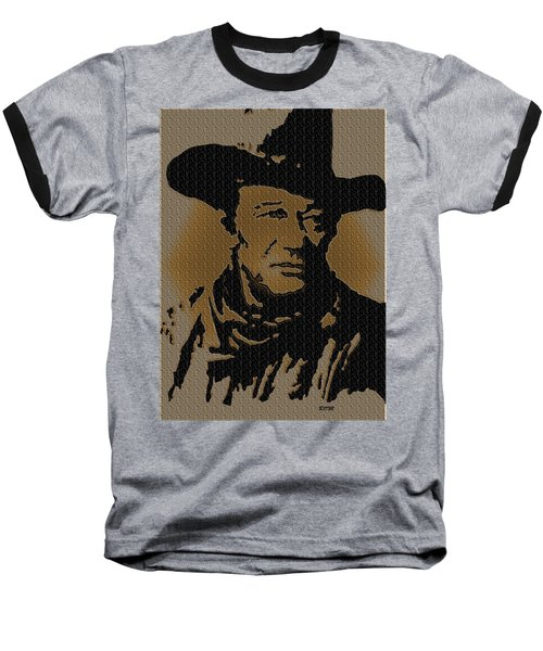 John Wayne Lives Baseball T-Shirt