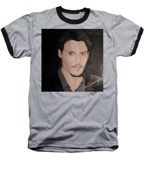 Johnny Depp - The Actor Baseball T-Shirt