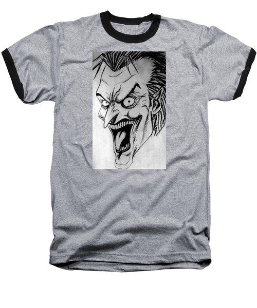 Joker Baseball T-Shirt by Salman Ravish