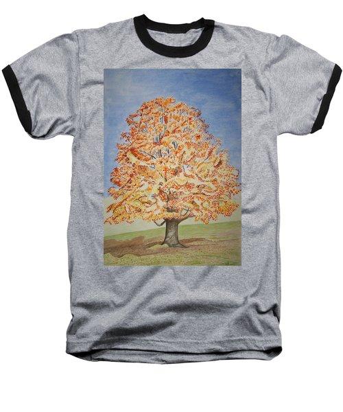 Jolanda's Maple Tree Baseball T-Shirt