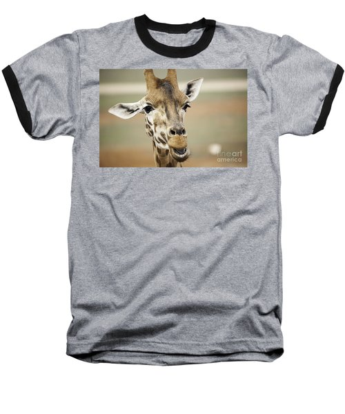 Jolly Giraffe Baseball T-Shirt