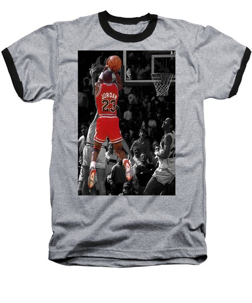 Jordan Buzzer Beater Baseball T-Shirt by Brian Reaves