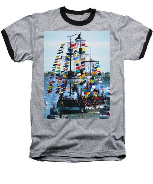 Jose Gasparilla Ship Work B Baseball T-Shirt