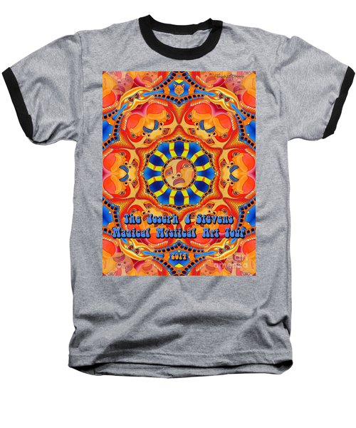 Joseph J Stevens Magical Mystical Art Tour 2014 Baseball T-Shirt