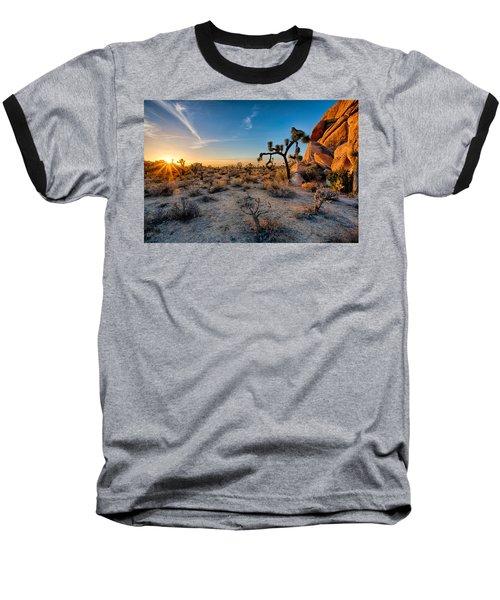 Joshua's Sunset Baseball T-Shirt