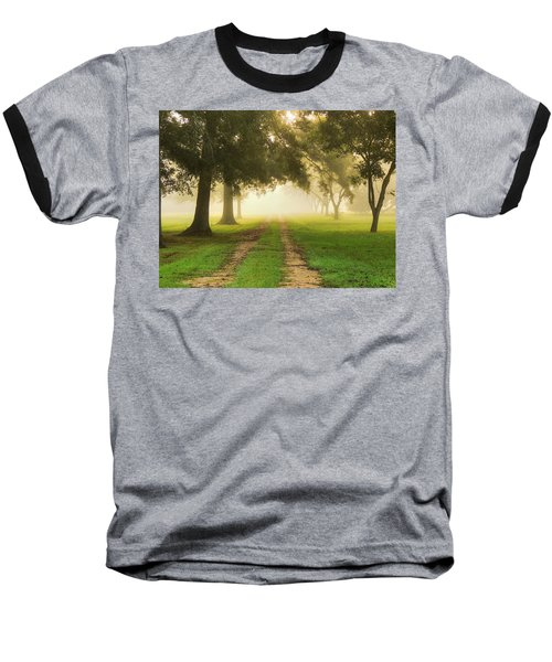 Journey Into Fall Baseball T-Shirt by Charlotte Schafer