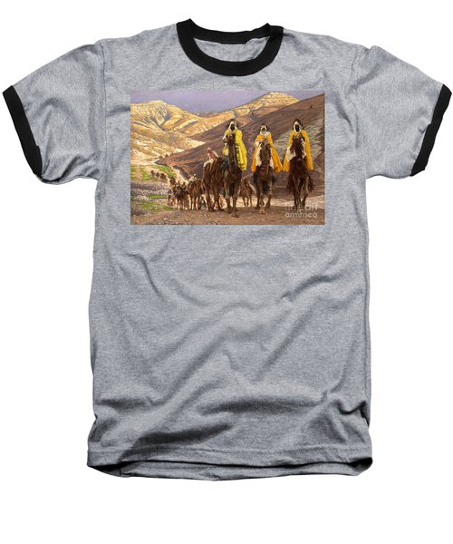 Journey Of The Magi Baseball T-Shirt