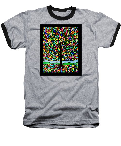 Joyce Kilmer's Tree Baseball T-Shirt