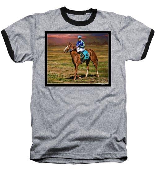 Juan Hermandez On Horse Atticus Ghost Baseball T-Shirt