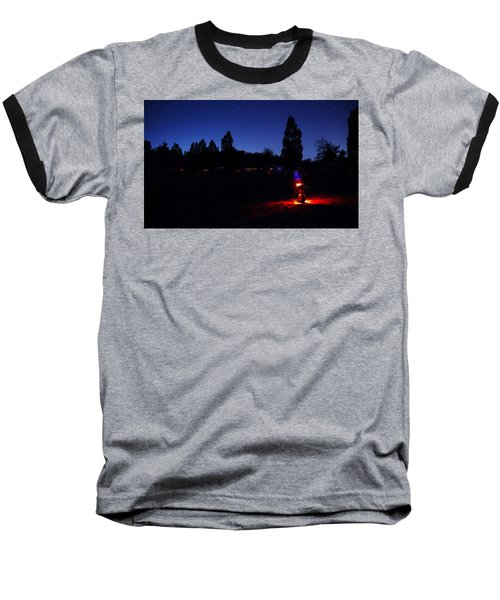 Julian Night Lights 2013 Baseball T-Shirt