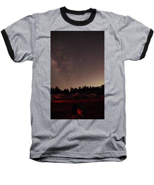 Julian Night Sky Milky Way Baseball T-Shirt