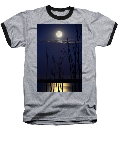 July 2014 Super Moon Baseball T-Shirt