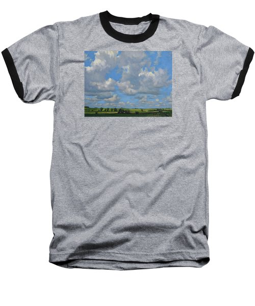 July In The Valley Baseball T-Shirt by Bruce Morrison