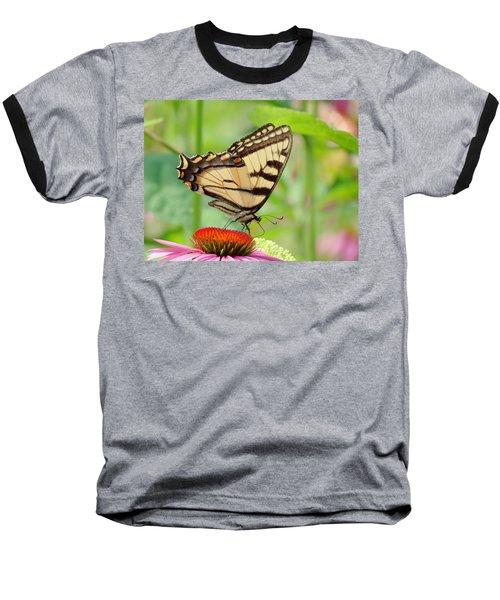 July Swallowtail Baseball T-Shirt