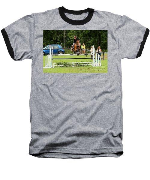 Jumping Eventer Baseball T-Shirt