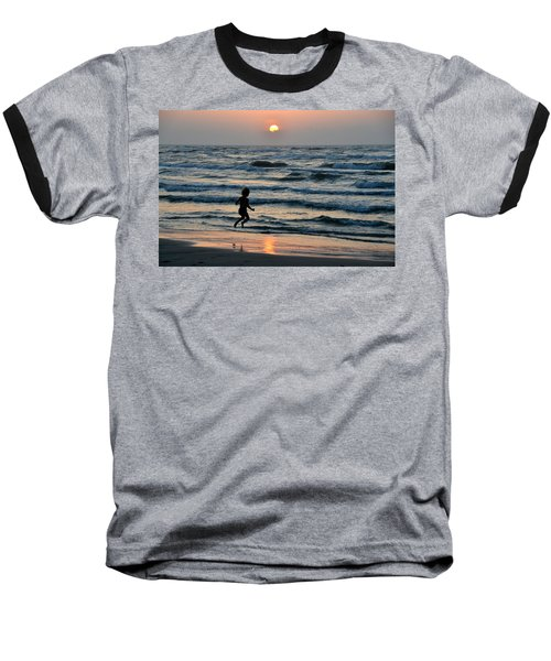 Jumping For Joy Baseball T-Shirt
