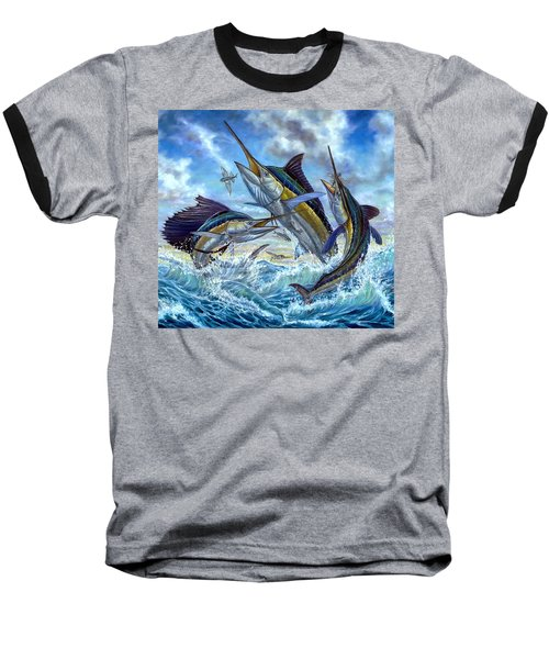 Jumping Grand Slam And Flyingfish Baseball T-Shirt