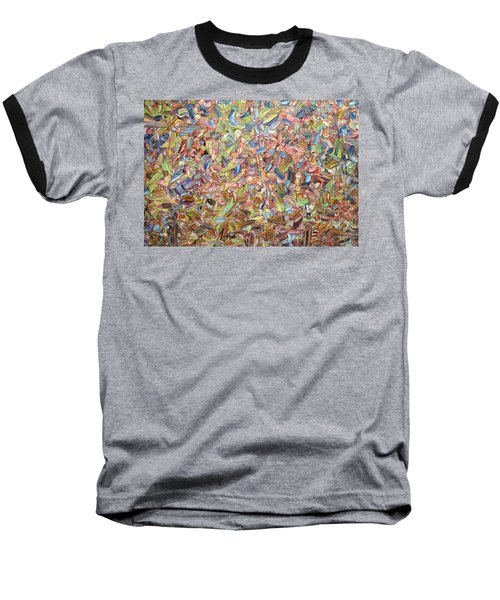 Baseball T-Shirt featuring the painting June by James W Johnson