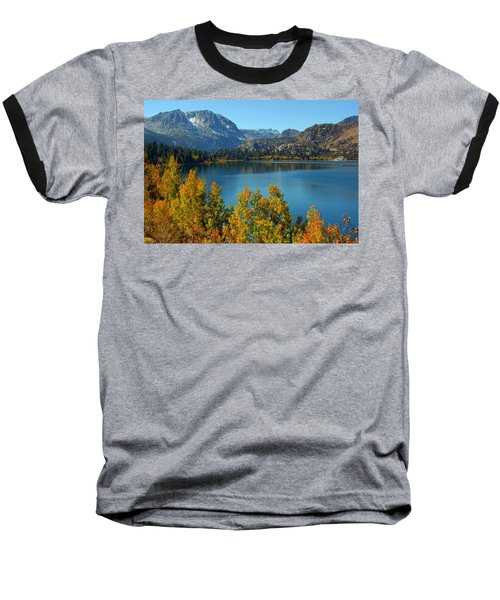 Baseball T-Shirt featuring the photograph June Lake Blues And Golds by Lynn Bauer
