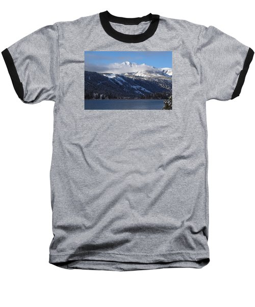 June Lake Winter Baseball T-Shirt by Duncan Selby