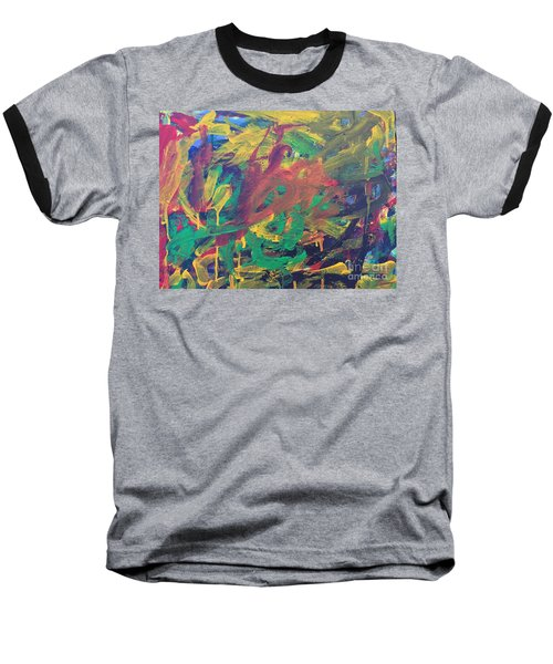 Jungle Baseball T-Shirt by Donald J Ryker III