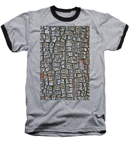 Baseball T-Shirt featuring the photograph Juniper Bark- Texture Collection by Tom Janca